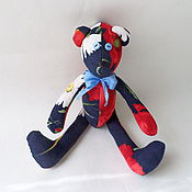"""Куклы и игрушки ручной работы. Ярмарка Мастеров - ручная работа Мишка тильда """"мак"""". Handmade."""