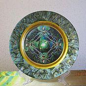 Посуда ручной работы. Ярмарка Мастеров - ручная работа Изумруд. Handmade.