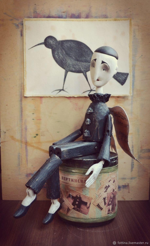 Кукла из дерева: мой Вертинский, Куклы и пупсы, Ростов-на-Дону,  Фото №1