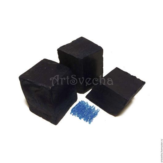 Другие виды рукоделия ручной работы. Ярмарка Мастеров - ручная работа. Купить Свечной краситель Синий №508. Handmade.