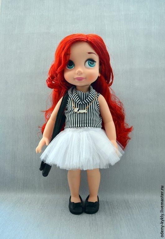 Одежда для кукол ручной работы. Ярмарка Мастеров - ручная работа. Купить №008 Комплект для куклы Дисней/Disney.. Handmade. Кукла дисней