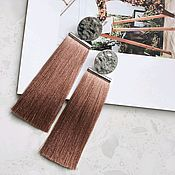 Украшения handmade. Livemaster - original item Earrings with tassels. Handmade.
