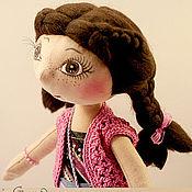 Куклы и игрушки ручной работы. Ярмарка Мастеров - ручная работа Юленька (Сиреневое настроение). Handmade.