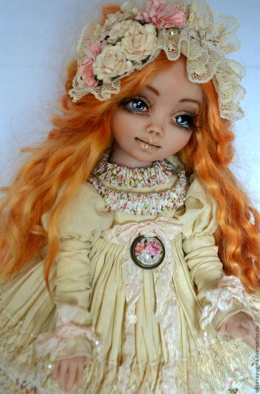 Коллекционные куклы ручной работы. Ярмарка Мастеров - ручная работа. Купить Карамелька.. Handmade. Рыжий, ручная авторская работа