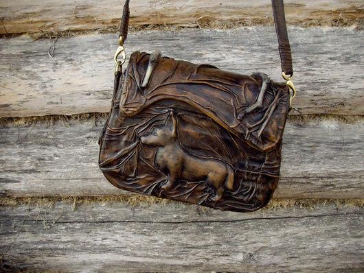 Женские сумки ручной работы. Ярмарка Мастеров - ручная работа. Купить сумочка. Handmade. Кожа