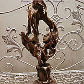 """Для дома и интерьера ручной работы. Ярмарка Мастеров - ручная работа Скульптура """"Пламя моего  сердца"""". Handmade."""