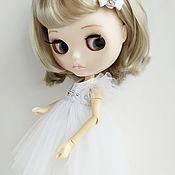 Куклы и игрушки handmade. Livemaster - original item Gentle angel dress for Blythe. Handmade.