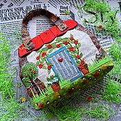 Работы для детей, handmade. Livemaster - original item Bag for a girl