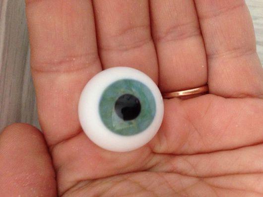Куклы и игрушки ручной работы. Ярмарка Мастеров - ручная работа. Купить глаза Лауша 22 мм N10. Handmade.