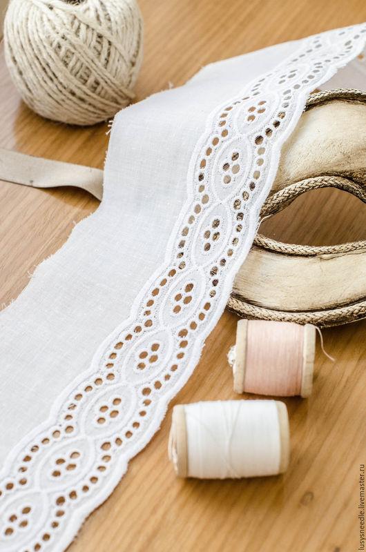 Шитье ручной работы. Ярмарка Мастеров - ручная работа. Купить Шитье №5. Handmade. Белое кружево, кружево для отделки