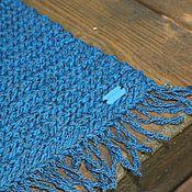 """Для дома и интерьера ручной работы. Ярмарка Мастеров - ручная работа вязаный коврик """"Дорожка с бахромой"""". Handmade."""