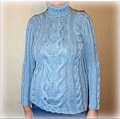 Одежда ручной работы. Ярмарка Мастеров - ручная работа Свитер вязаный женский. Handmade.