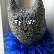Куклы и игрушки ручной работы. Ярмарка Мастеров - ручная работа Игрушка кошка из флиса. Handmade.