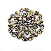 Материалы для творчества handmade. Livemaster - original item Filigree decorative element. Handmade.