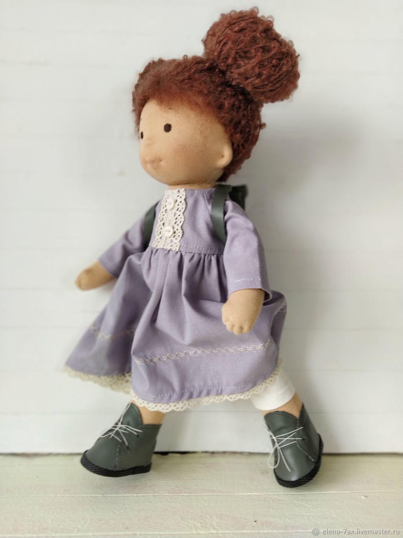 """Вальдорфская кукла """"Маняша"""" с комплектом одежды, Вальдорфские куклы и звери, Москва,  Фото №1"""