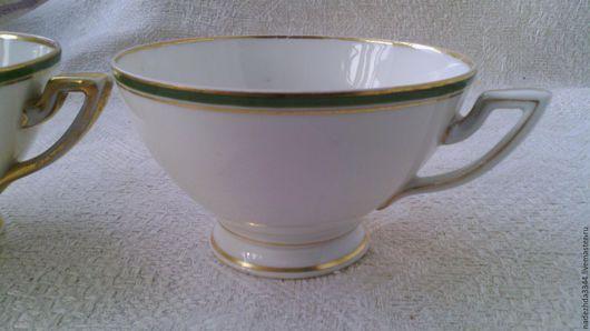 Винтажная посуда. Ярмарка Мастеров - ручная работа. Купить до 1910 г. Чашка чайная. Богемия. Haas & Czjzek.. Handmade.