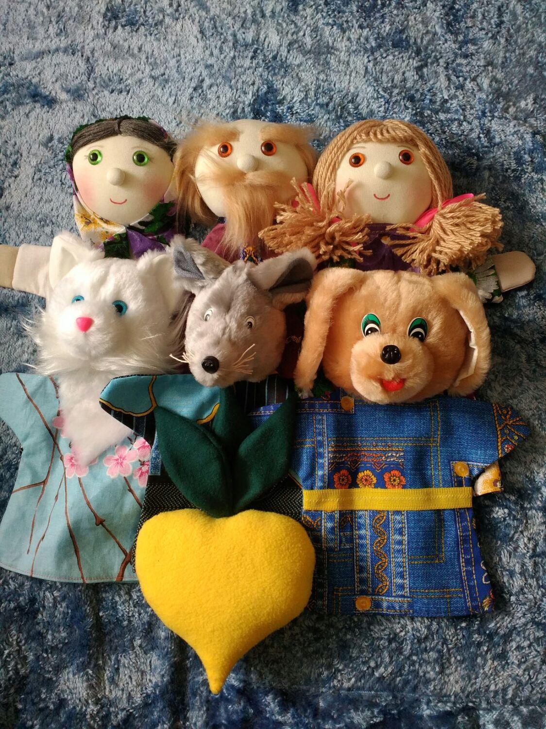 картинки куклы на руку для театра стесненных квартирных