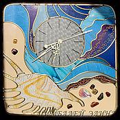 """Для дома и интерьера ручной работы. Ярмарка Мастеров - ручная работа Авторские часы """"Море"""". Handmade."""