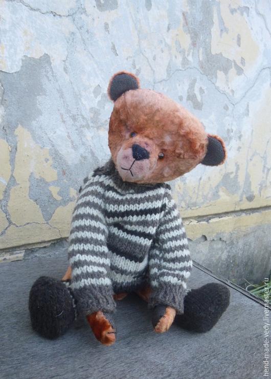 Мишки Тедди ручной работы. Ярмарка Мастеров - ручная работа. Купить друг мой Прошка. Handmade. Рыжий, авторская работа
