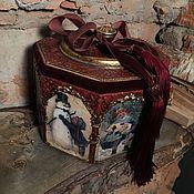 Подарки ручной работы. Ярмарка Мастеров - ручная работа Огромный короб для хранения Новогоднего Волшебства. Handmade.