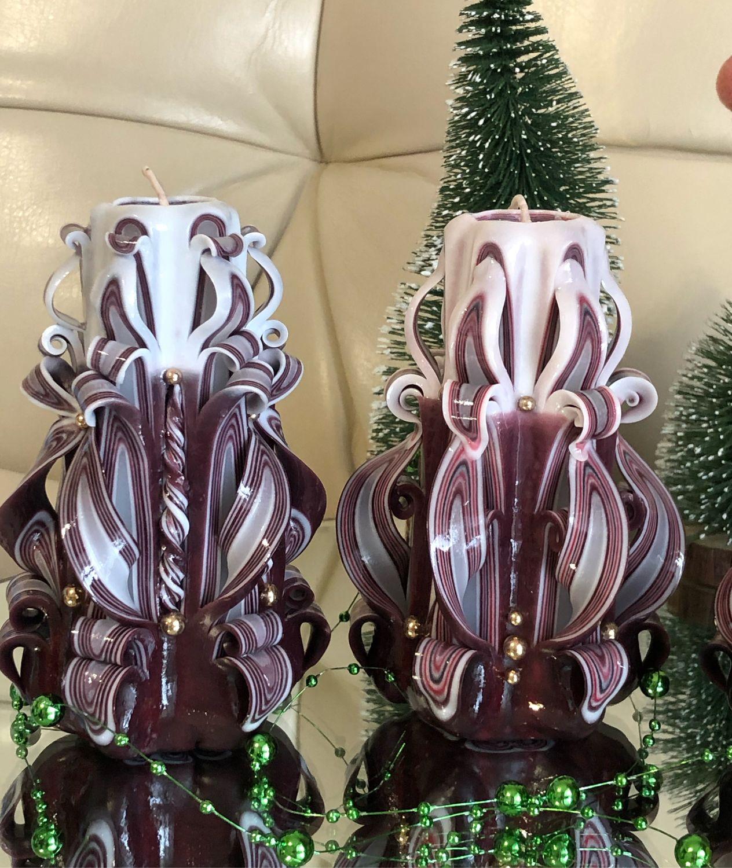 Свечи резные. Свечи в подарок. Свечи интерьерные. Свечи в комплекте, Свечи, Абакан,  Фото №1