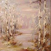Картины и панно handmade. Livemaster - original item winter morning. Handmade.