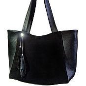 Сумки и аксессуары handmade. Livemaster - original item Leather bag
