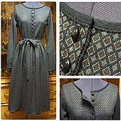 Одежда ручной работы. Ярмарка Мастеров - ручная работа Ретро - платье. Handmade.