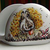 """Посуда ручной работы. Ярмарка Мастеров - ручная работа Сервиз """"Ежик в тумане"""" продолжение. Handmade."""