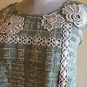 Одежда ручной работы. Ярмарка Мастеров - ручная работа Платье 2125 Геометрия в цветах. Handmade.