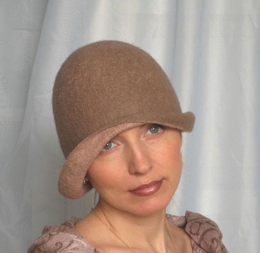"""Шляпы ручной работы. Ярмарка Мастеров - ручная работа. Купить Дамская шляпка-клош """"Дыша духами и туманами"""". Handmade."""