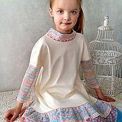 """Работы для детей, ручной работы. Ярмарка Мастеров - ручная работа Платье """"В стиле ретро"""". Handmade."""