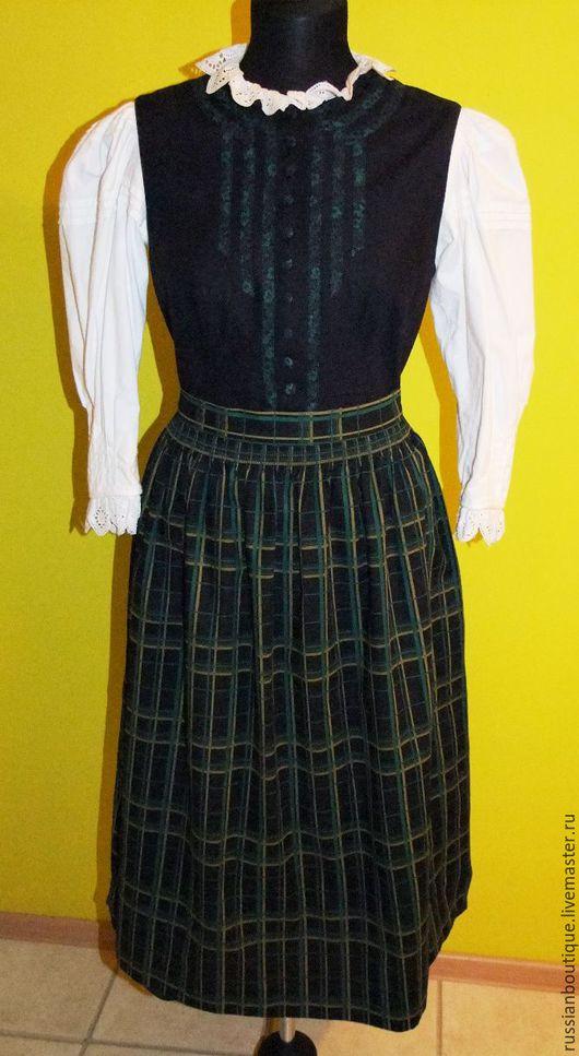 """Одежда. Ярмарка Мастеров - ручная работа. Купить Традиционное австрийское платье-костюм """"Dirndl"""" Zechner made in Austri. Handmade."""