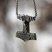 Украшения handmade. Livemaster - original item Talisman/Pendant Thor`s hammer of steel. Handmade.