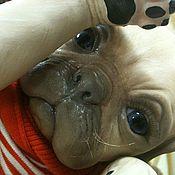 Куклы и игрушки ручной работы. Ярмарка Мастеров - ручная работа Реборн-мопс 2,принцесса.. Handmade.