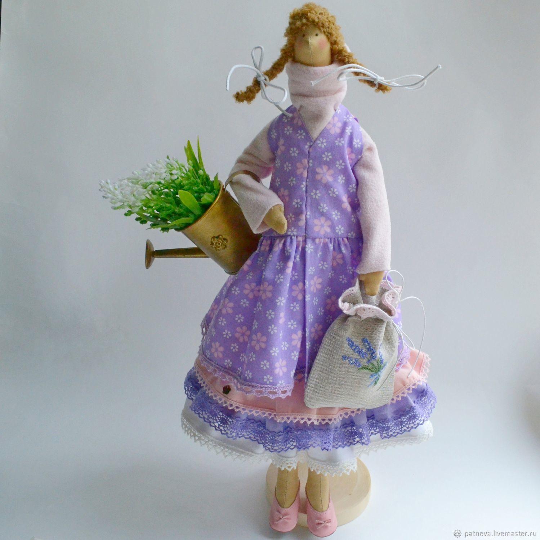 Tilda Doll with lavender - Parisienne, Tilda Dolls, Boron,  Фото №1