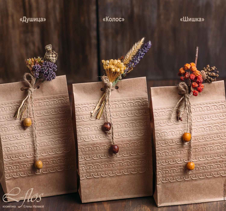 Подарочная упаковка из крафт бумаги своими руками