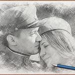 Елена&Денис (Borzoi) - Ярмарка Мастеров - ручная работа, handmade