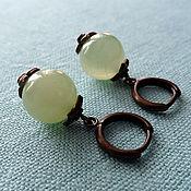 Украшения handmade. Livemaster - original item Onyx earrings. Handmade.