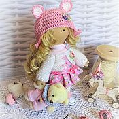 Куклы и игрушки ручной работы. Ярмарка Мастеров - ручная работа кукла текстильна ПРОДАНА. Handmade.