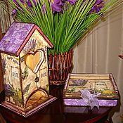 """Для дома и интерьера ручной работы. Ярмарка Мастеров - ручная работа набор """"Запах лаванды"""". Handmade."""