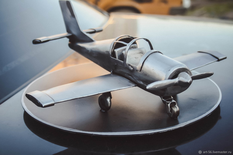 Модель самолета из металла, Модели, Оренбург,  Фото №1