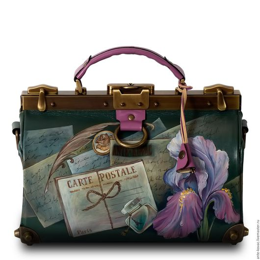 Женские сумки ручной работы. Ярмарка Мастеров - ручная работа. Купить Саквояж 30 см «Томеллис». Handmade. Комбинированный, bag