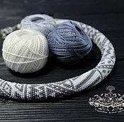 Украшения handmade. Livemaster - original item Necklace-beaded harness.. Handmade.