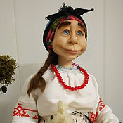 Куклы и игрушки ручной работы. Ярмарка Мастеров - ручная работа Кубанская Казачка, Авторская кукла. Handmade.