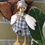 Куклы и игрушки ручной работы. Ярмарка Мастеров - ручная работа Гусь милаш............. Handmade.