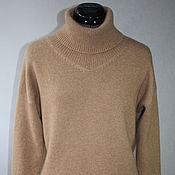 Одежда ручной работы. Ярмарка Мастеров - ручная работа Кашемировый свитер Camel. Handmade.