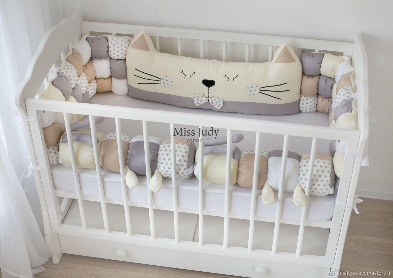 Бортики для детской кроватки, Текстиль, Москва, Фото №1