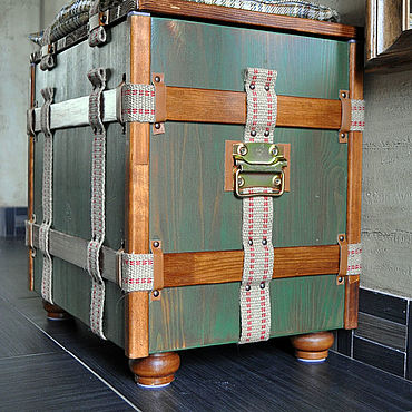 Для дома и интерьера ручной работы. Ярмарка Мастеров - ручная работа Сундук-банкетка. Handmade.