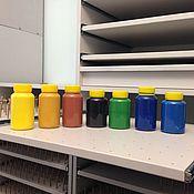 Материалы для творчества ручной работы. Ярмарка Мастеров - ручная работа Матовая краска для кожи KENDA FARBEN Orly SL Opaco (150 ml). Handmade.